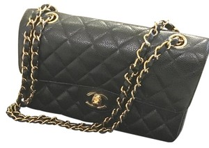 Chanel Hand Caviar Shoulder Bag
