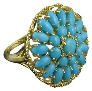 Heritage Gems Heritage Gems Sleeping Beauty Turquoise Sterling Silver Ring - Size 5