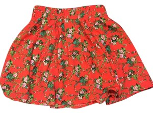 Forever 21 21 Summer Mini Skirt Floral