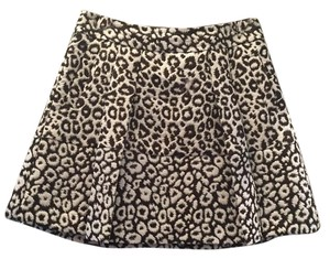 Banana Republic Mini Skirt Leopard