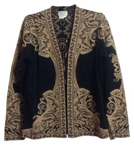 Other Bold Print Graphic Print Paisley Folklore Bohemian Cardigan