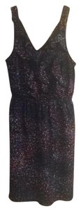 Mossimo Supply Co. short dress Black with various color speckles on Tradesy
