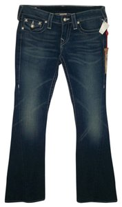 True Religion Denim Joey Boot Cut Jeans-Distressed