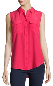 Equipment Silk Sleeveless Nordstroms Top Deep Rose