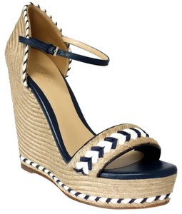 Gucci Wedges Wedge Sandals Wedge Sandals Blue Platforms