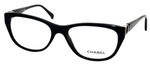 Chanel CHANEL Dark Green Eyeglasses with Case