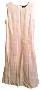 Lauren Ralph Lauren Shell 100% Linen Lining 100% Cotton Dry Clean Only It Has Pockets Dress