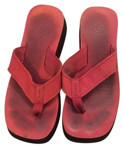 Reef Red Sandals