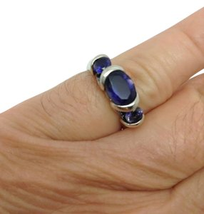 Other size 6, sterling silver, 2.50 ct. t.w. Lolite, Fashion ring