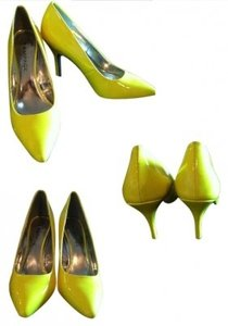 Rampage Neon Yellow Pumps