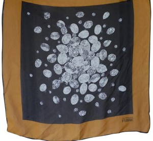 Gianfranco Ferre GIANFRANCO FERRE DIAMONDS CHIFFON SILK SCARF 25