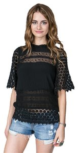 Line & Dot And Lace Tunic