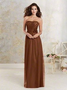 Alfred Angelo Chocolate Brown 8602 Dress