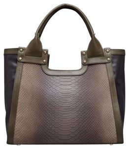 Charles Jourdan Tote in Olive Green