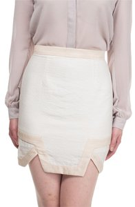 Keepsake the Label Skirt Cream & Taupe