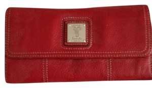 tignanello red Clutch