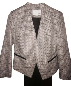 Bar III Black & White Blazer