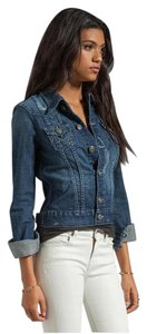 True Religion Blue Denim Womens Jean Jacket