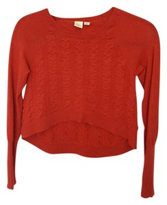 Anthropologie Cropped Long Sleeve Sweater