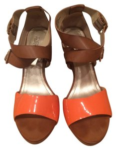 Kenneth Cole Reaction Brown and Orange Sandals