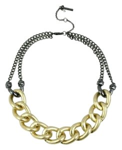 Kenneth Cole Kenneth Cole Gold Link Chain Statement Necklace