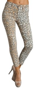 JOE'S Jeans Animal Print Ankle Capri/Cropped Denim