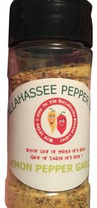 Lemon Pepper, Garlic & Carolina Reaper Pepper Seasoning-Hand Made