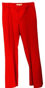 Trina Turk Leg Size 6 Pre-owned Straight Pants Red