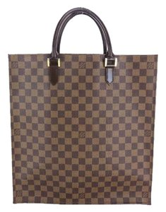 Louis Vuitton Special Order Limited Edition Tote in Damier Ebene
