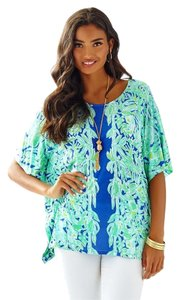 Lilly Pulitzer Top Pool Blue
