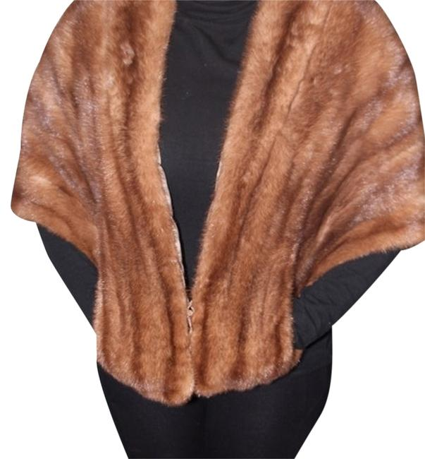 MINKPINK Brown /Stole Poncho/Cape Size OS (one size) MINKPINK Brown /Stole Poncho/Cape Size OS (one size) Image 1