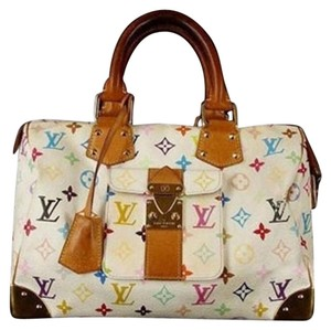 Louis Vuitton Murakami Limited Edition Satchel in Multicolor