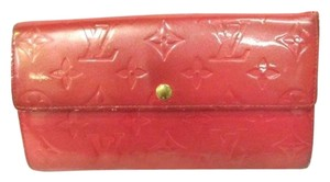 Louis Vuitton Vernis Sarah Wallet 205089