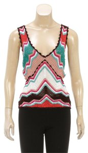 M Missoni Top Orange/Multicolor