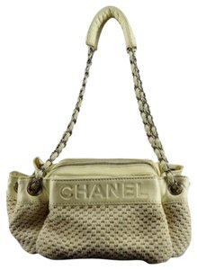 Chanel Gst Quilted Medallion Shoulder Bag