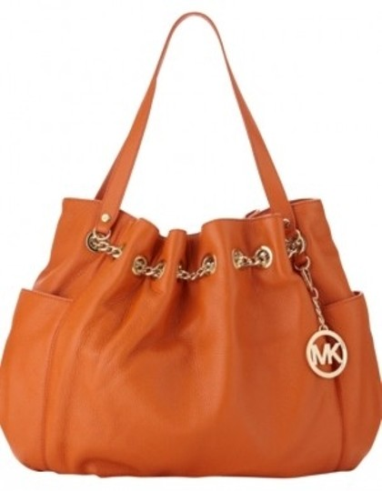 Preload https://item1.tradesy.com/images/michael-kors-jet-set-chain-ring-persimmon-leather-tote-171345-0-0.jpg?width=440&height=440