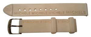 Michele Michele watch band 18 mm silicone rubber