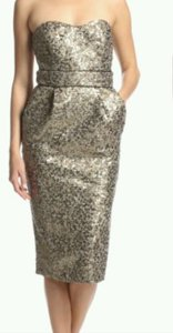 Badgley Mischka Sequin Beaded Dress