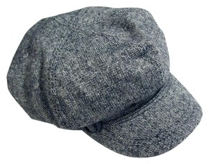 Mossimo Supply Co. Chunky Tweed Newsboy Gatsby Hat Black/White