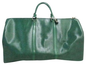 Louis Vuitton Borneo Green Travel Bag