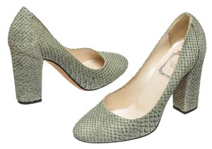 Dior Green Pumps