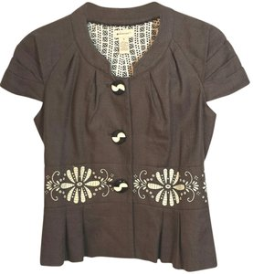 Anthropologie Eleveness Lined Office Top (4)