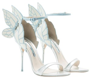 c17653c20a8 Sophia Webster Ice Blue & Snow White 'chiara' Butterfly Sandals Size US 8  26% off retail