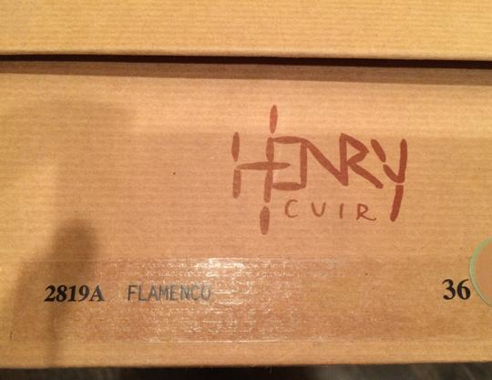 Henry Cuir Dark Brown Leather Boots