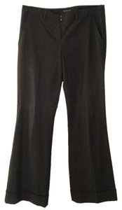 The Limited Wide-leg Fitted Dressy Wide Leg Pants Charcoal