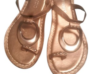 Bernardo Metallic Sandals