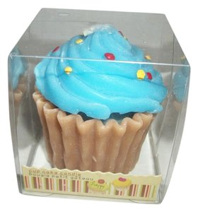 Other Blue Cupcake Candle