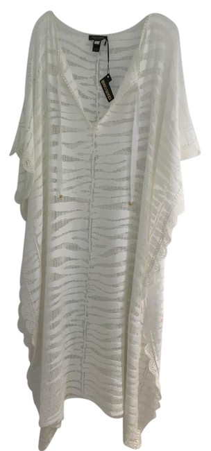 Item - White/Off White Cover-up/Sarong Size OS (one size)