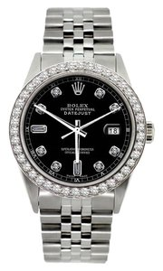 Rolex Automatic 36mm Rolex Datejust Stainless Steel Watch