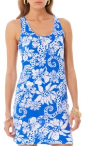 Lilly Pulitzer short dress Deep sea blu on Tradesy